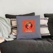 YourSurprise Liefdeskussen - 40x40cm - Lichtgrijs - Ongevuld