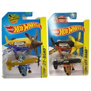 Hot Wheels 2015 Mad Propz Die-Cast Planes #92 and variant from Mainline 2-plane set