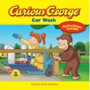 Curious George Car Wash, Paperback