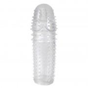 Capa Peniana em Silicone Com Saliências - HFHZ359