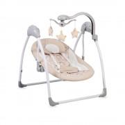 Cangaroo Ljuljaška za bebe Jessie Beige sa svetlom i daljinskim upravljačem (CAN7843)