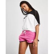 Nike Sportswear Fleece short dames roze/zwart