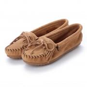ミネトンカ Minnetonka KILTY Suede Moccasin Shoes (トープ) レディース