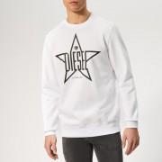 Diesel Men's Gir Sweatshirt - White - S - White