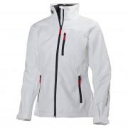 Helly Hansen Womens Crew Midlayer Sailing Jacket White XL