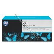 Мастило HP 771C, Matte Black (775 ml), p/n B6Y07A - Оригинален HP консуматив - касета с мастило