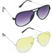 Redleaf Aviator Sunglasses(Grey)