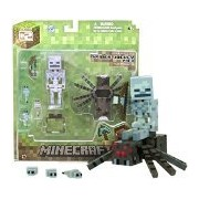 Overworld Spider Jockey: Minecraft Mini Fully Articulated Action Figure Series #2