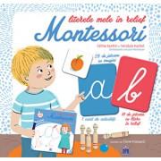 Literele mele in relief Montessori/Celine Santini