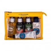 L´Occitane Amande Cleansing And Softening Shower Oil set cadou set