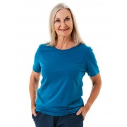 Seniors' Wear Jade Crew Neck Tee Shirt - Jade 14