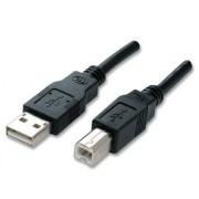 Cavo USB 2.0 Tipo A/B nero