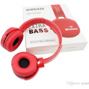 Extra Bass Wireless Headset Bluetooth Stereo Headphone for Sony MDR-XB950B Red