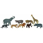 Animale salbatice set de 9 figurine - Miniland