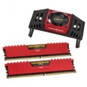 Corsair Vengeance LPX DDR4 PC4-28800, 3.600 MHz, C18, Rosso - Kit 16GB (2x 8GB)
