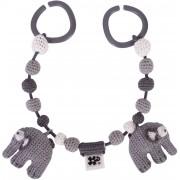 Sebra Barnvagnshänge Elefant, Grey