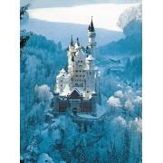 Puzzle Ravensburger - Castelul Neuschwanstein Iarna, 1.500 piese (16219)