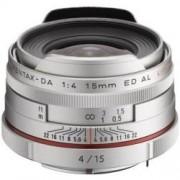 Pentax HD DA 15mm f/4 ED AL Limited ezüst objektív