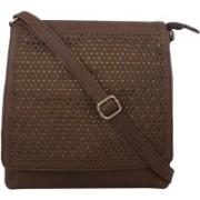 LI LEANE Women Brown Sling Bag