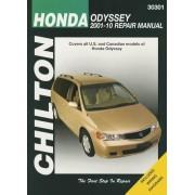 Chilton Total Car Care Honda Odyssey 2001-2010 Repair Manual, Paperback