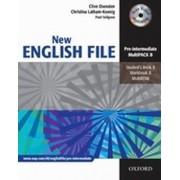 OXFORD New English File Pre-intermediate Multipack B - Clive Oxenden