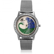 Arum Silver Peacock Watch AW-017