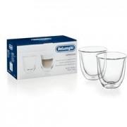 Delonghi ECAM 45.760W Eletta Cappuccino Top Coffee Machine Free Gift & Delivery - 2 Double Walled Cappuccino Glasses