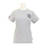 【セール実施中】【送料無料】グラフィックプリントボーダーTシャツ PWB7S4098W SLWH