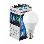 Moserbaer White 9w Cool White Led Bulbs - Pack Of 3