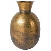 DUTCHBONE Vase BAHIR style ethnique chic en laiton