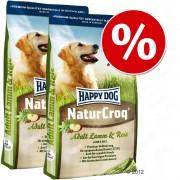 Happy Dog Natur gazdaságos dupla csomag - Natur-Croq Senior (2 x 15 kg)