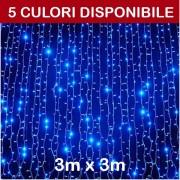 Perdea luminoasa cu 288LED, 3m x 3m (LxH), exterior, DEC288LFNLWW