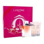 Lancôme La Vie Est Belle подаръчен комплект EDP 50ml + 50ml лосион за тяло + 50ml душ гел за жени
