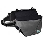 Doggles Dog Backpack, Small, Gray/Black