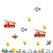 TipTop Wall Stickers Cartoon Truck Design Löstagbar