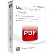 Aiseesoft PDF Converter Ultimate Version 2017 - lebenslange Lizenz Mac OS