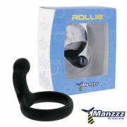 ManzzzToys - Rollie Penis Ring Black