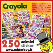 CRAYOLA 5472 SET 250 ADESIVI E COLORI