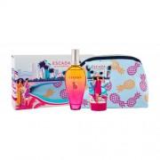 ESCADA Miami Blossom подаръчен комплект EDT 100 ml + лосион за тяло 150 ml + козметична чантичка за жени