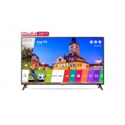 Televizor LED LG 43LJ614V, 108 cm, Smart, Full HD, webOS 3.5, Metal Frame