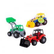 Polesie Traktor Majster s lopatou 27cm