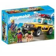 Vehiculo Playmobil Ship De Rescate En La Montaña - 9128