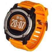 GARETT Smartwatch Sport 23 GPS Czarno-pomarańczowy