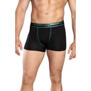 Umberto férfi boxeralsó, fekete és zöld XXL
