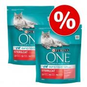 Purina ONE Bifensis pienso para gatos - Pack Ahorro - Senior 7+ 2 x 800 g