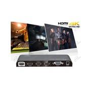 SI COMMUTA DA TELECOMANDO, LO SWITCH HDMI 4K: LO SWITCH HDMI 3X1