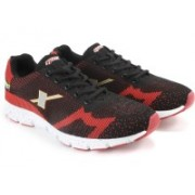 Sparx ONE CUSHION 3 NITE Men Running Shoes For Men(Black, Red)