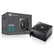 Coolermaster Masterwatt 650w 80+ Bronze Semi-modular Power Supply