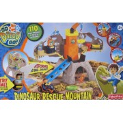 Go DIEGO Go! DINOSAUR RESCUE MOUNTAIN Playset w SOUNDS PHRASES & Rescue Missions (2008)