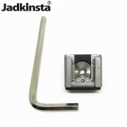 Jadkinsta FlashShoe Mount Adapter Houder met 1/4 Schroef Montagebeugel Voor Nikon Voor Canon Dslr Kooi Video Licht Monitor